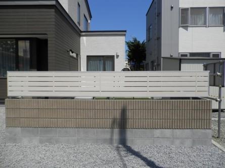 アルミフェンス ブロック