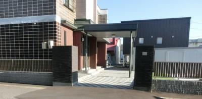 旭川市 外構 化粧ブロック フェンス