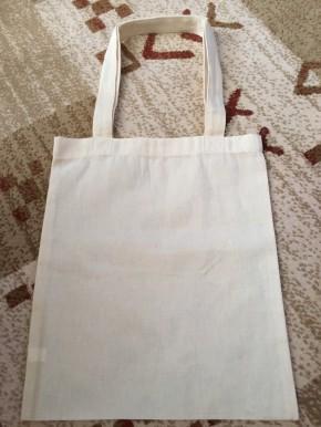 お気に入りのオーガニックコットン製バッグ